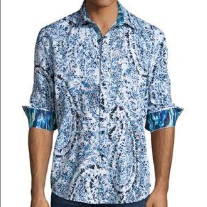 Robert Graham Paisley dress shirt